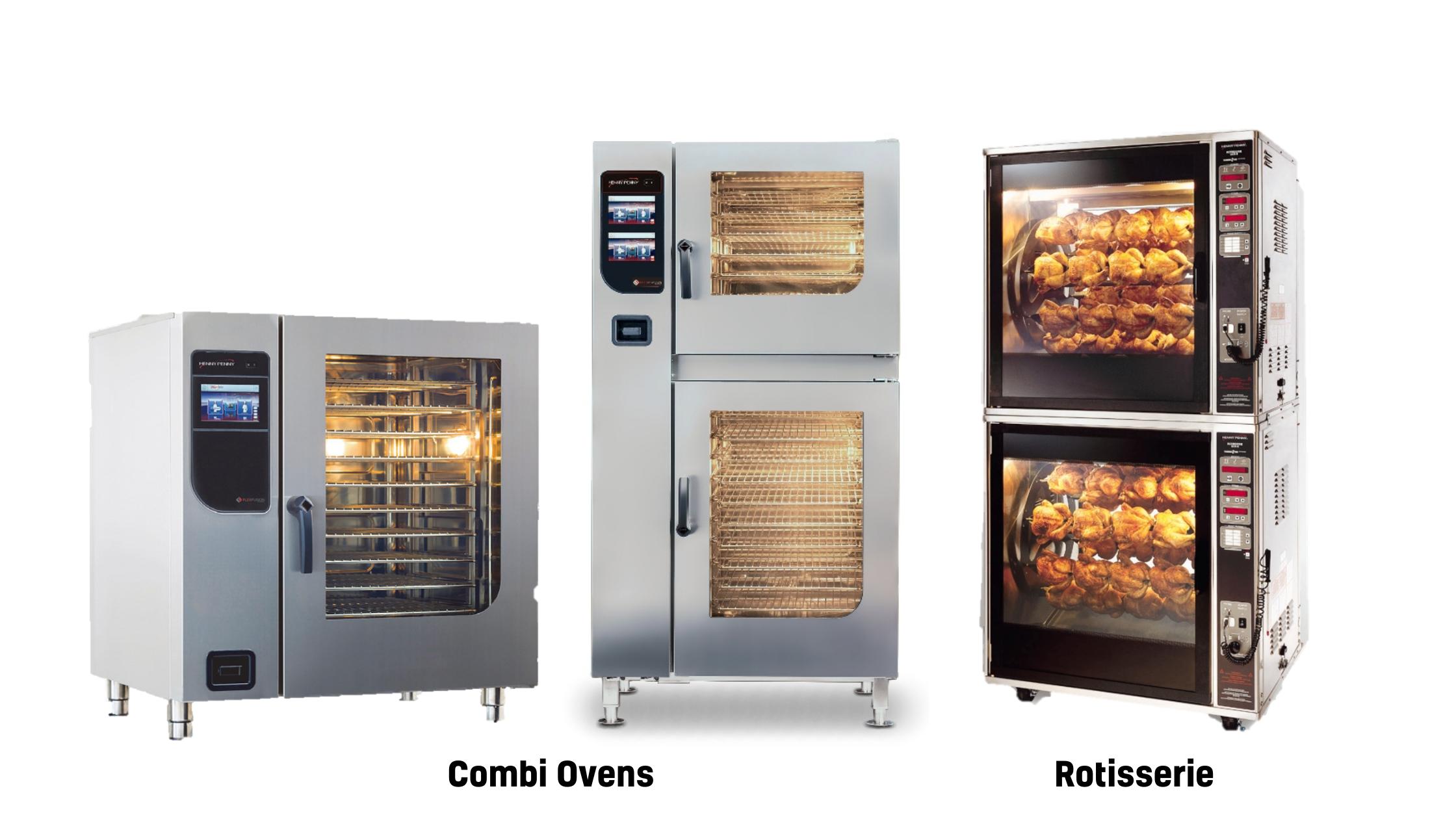 Combi Ovens, Rotisseries
