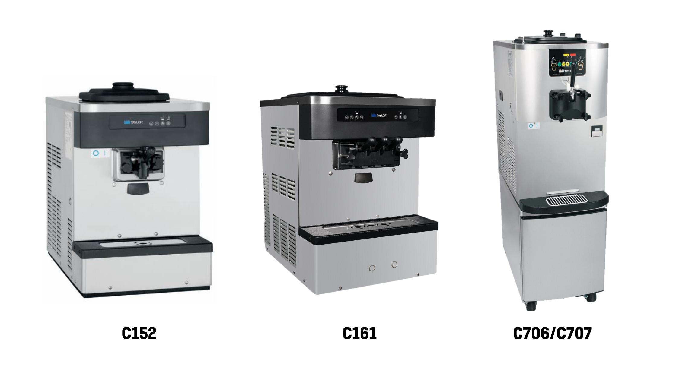Soft Serve Models_ C152, C161, C706_C707